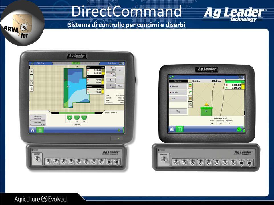DirectCommand Sistema di controllo per concimi e diserbi