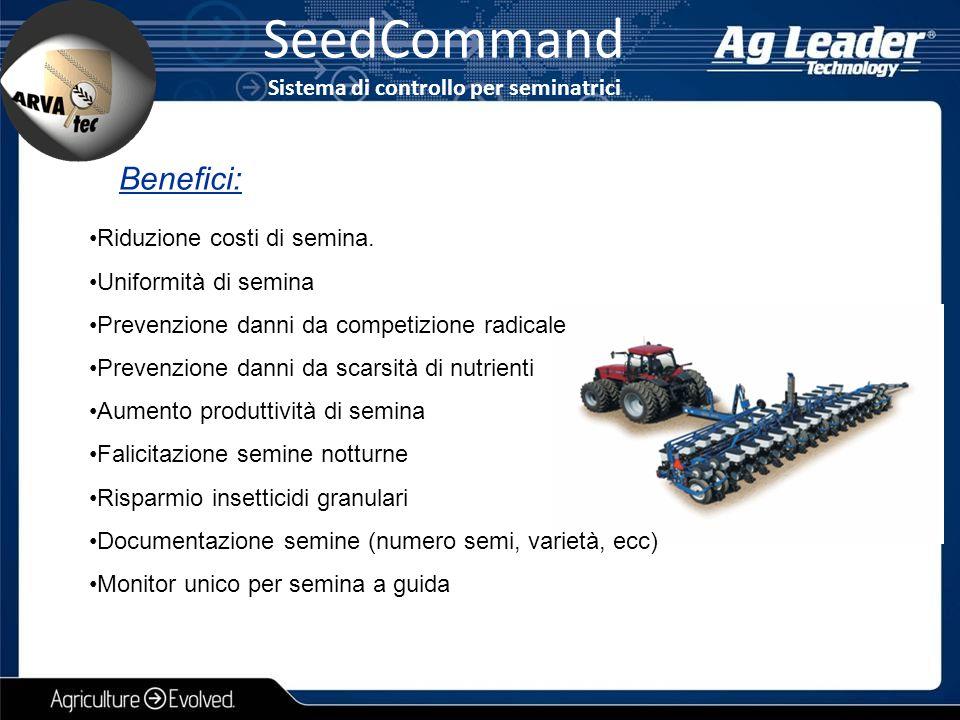SeedCommand Sistema di controllo per seminatrici