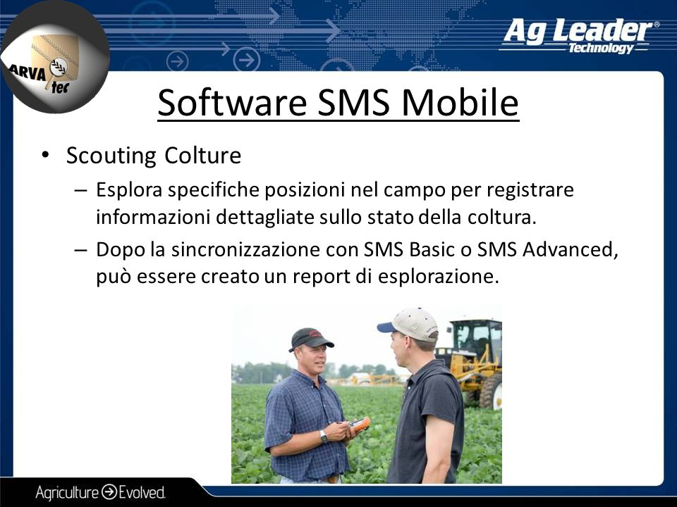Software SMS Mobile Scouting Colture