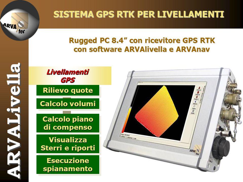 ARVALivella SISTEMA GPS RTK PER LIVELLAMENTI