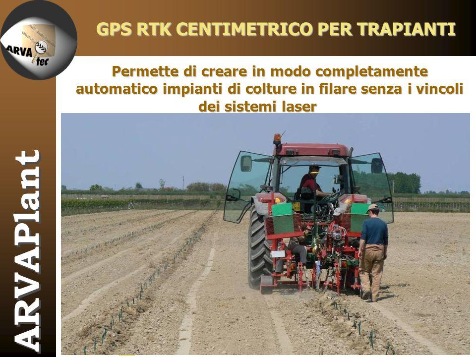 GPS RTK CENTIMETRICO PER TRAPIANTI