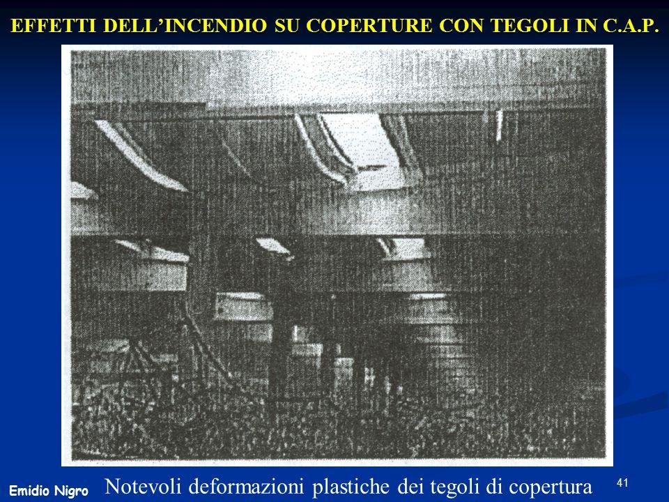 EFFETTI DELL'INCENDIO SU COPERTURE CON TEGOLI IN C.A.P.