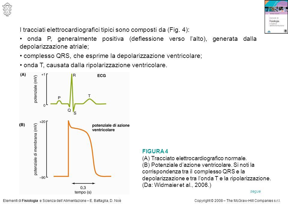• complesso QRS, che esprime la depolarizzazione ventricolare;