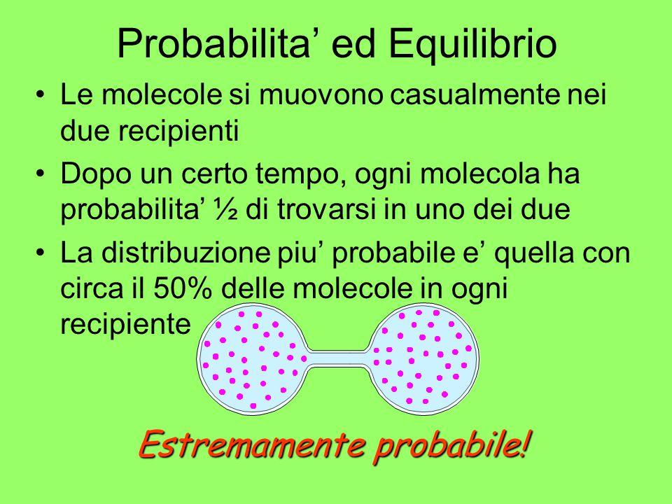Probabilita' ed Equilibrio