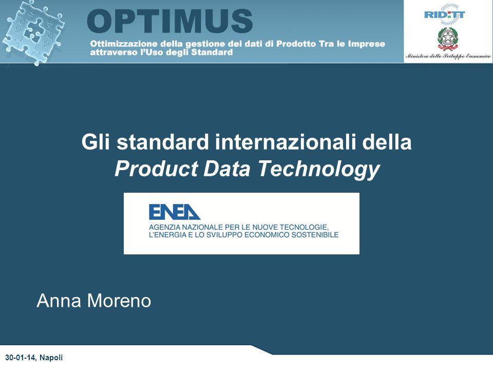 Gli standard internazionali della Product Data Technology