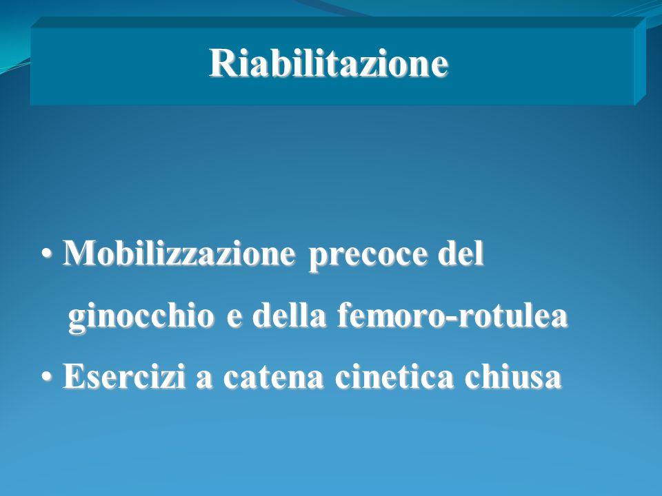 Riabilitazione Mobilizzazione precoce del