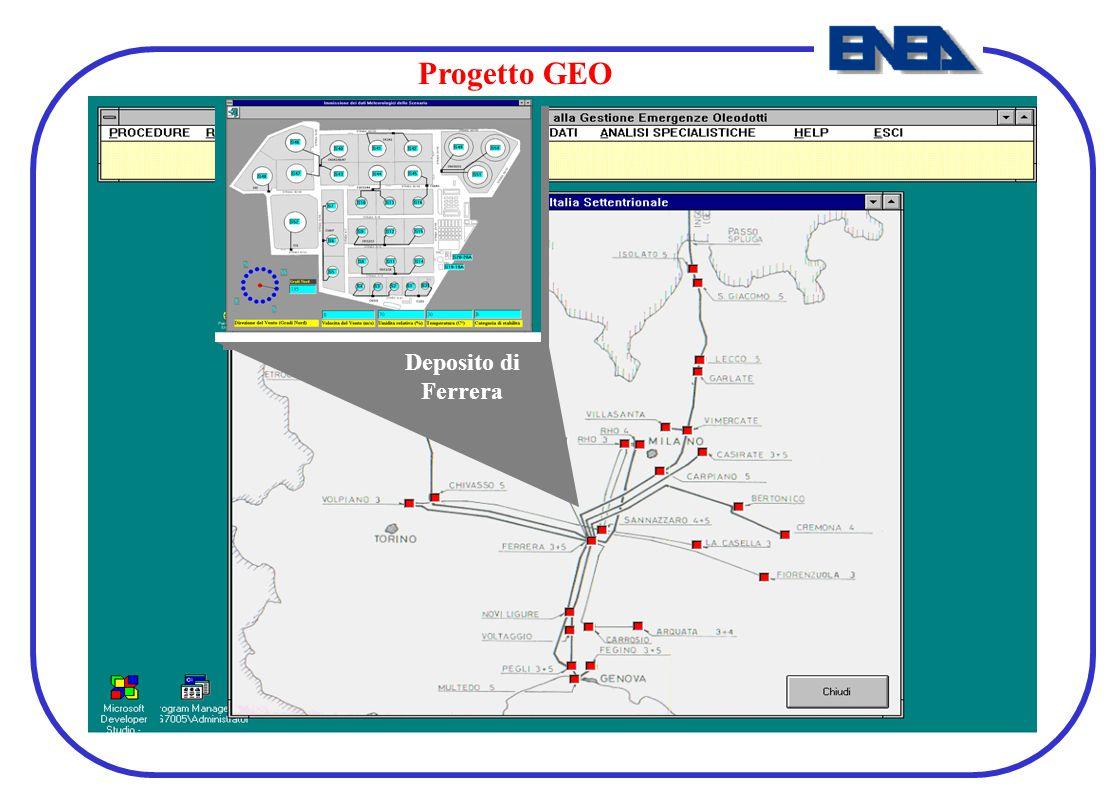 Progetto GEO Deposito di Ferrera