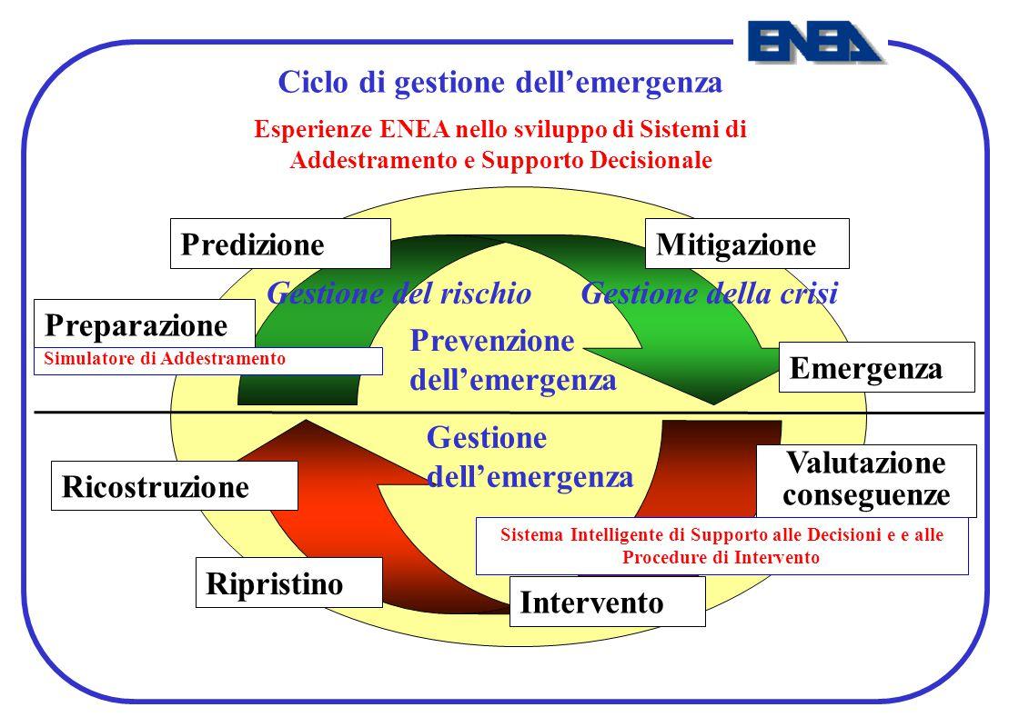 Ciclo di gestione dell'emergenza