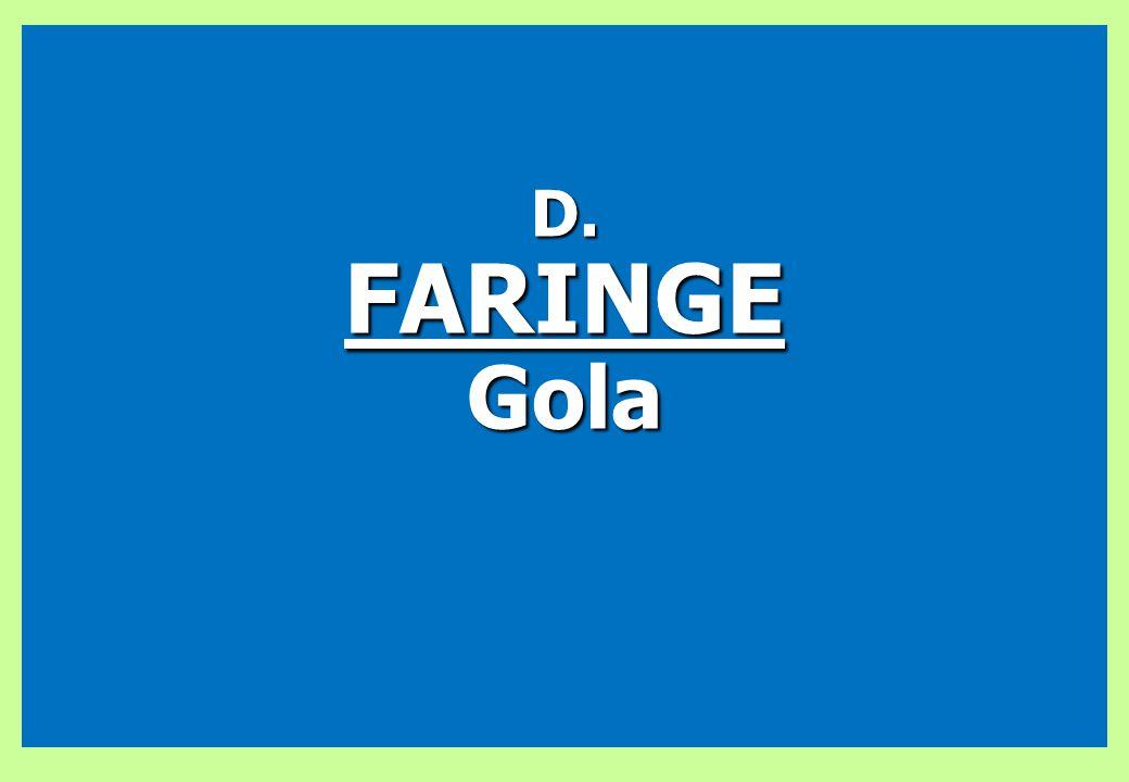 D. FARINGE Gola