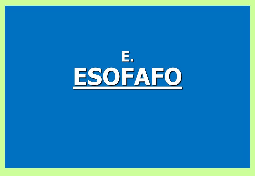 E. ESOFAFO