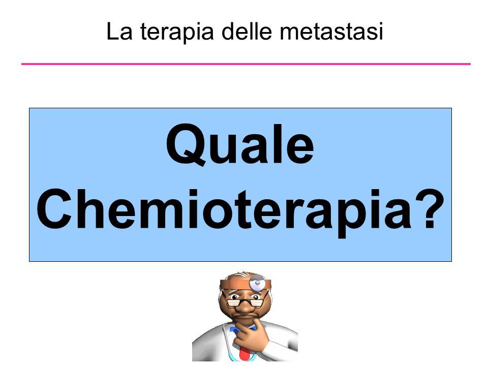 La terapia delle metastasi