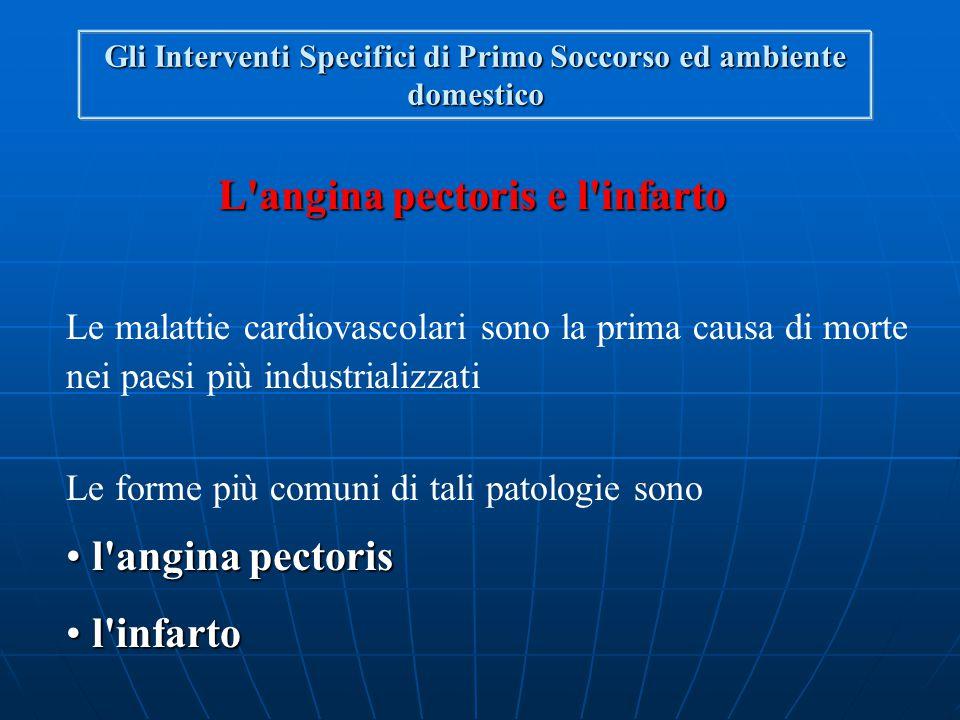 L angina pectoris e l infarto
