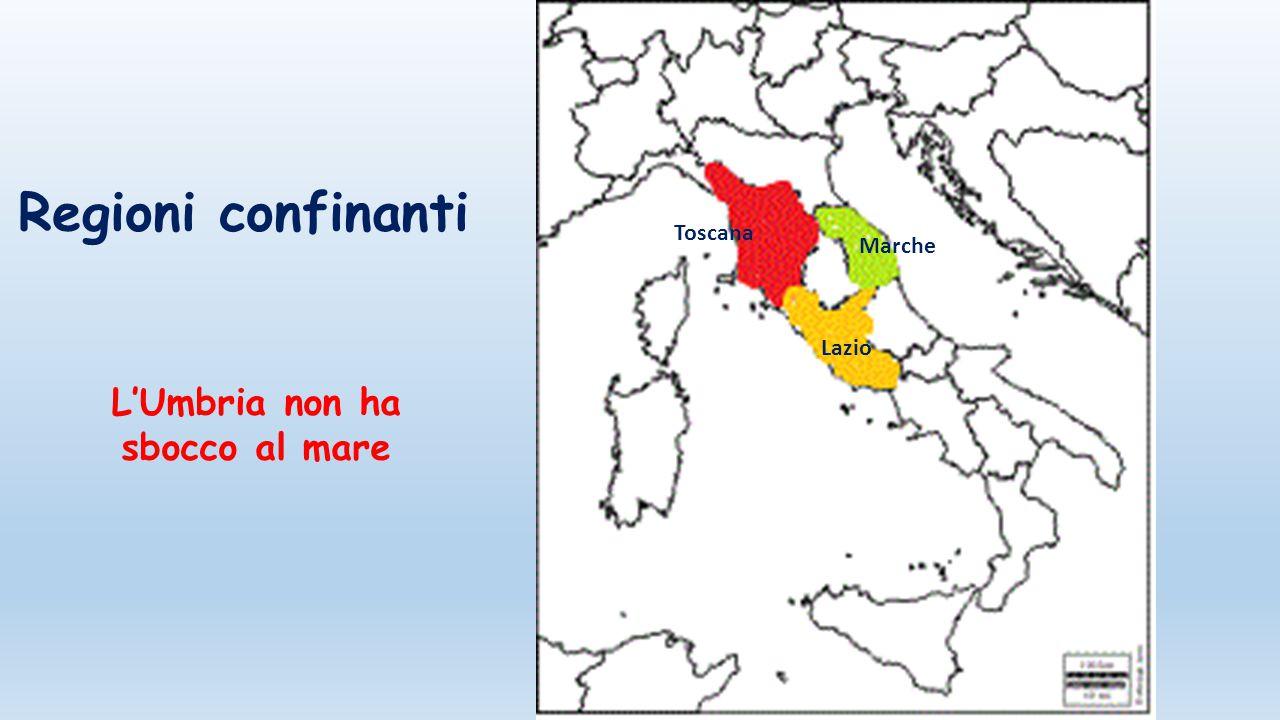 L umbria dal satellite ppt scaricare - Regioni italiane non bagnate dal mare ...