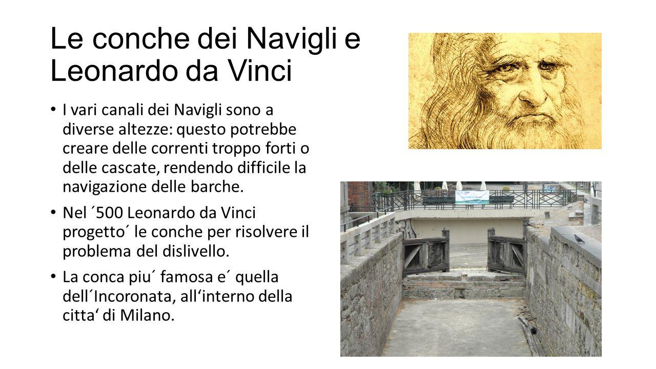 Le conche dei Navigli e Leonardo da Vinci