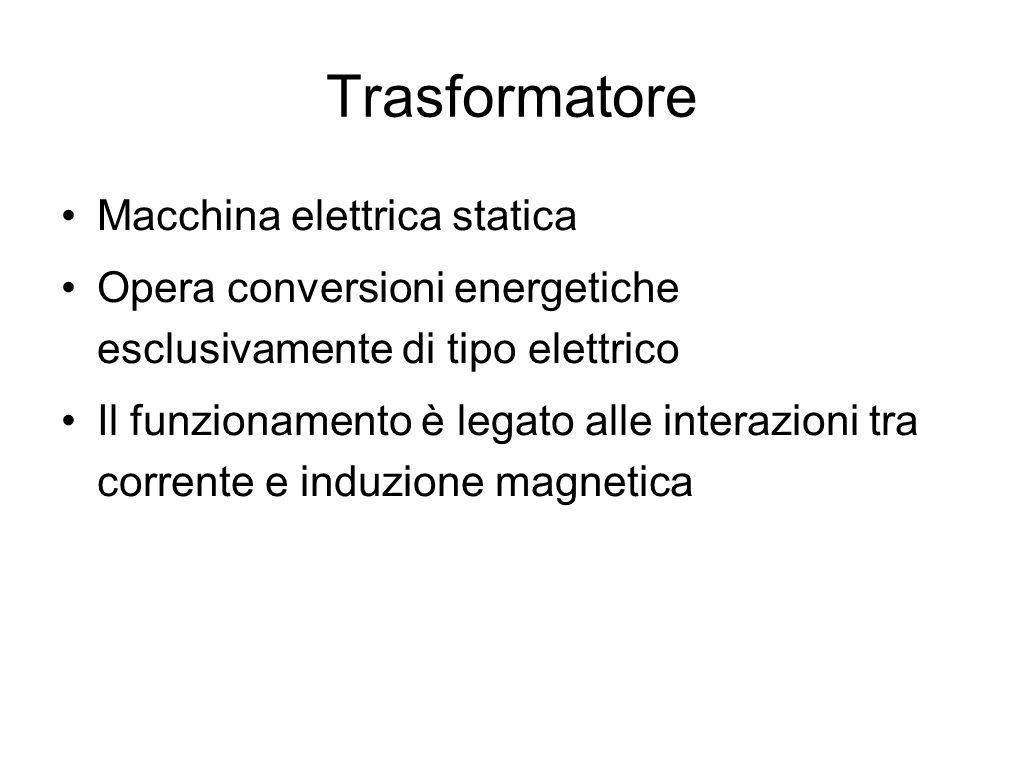 Trasformatore Macchina elettrica statica