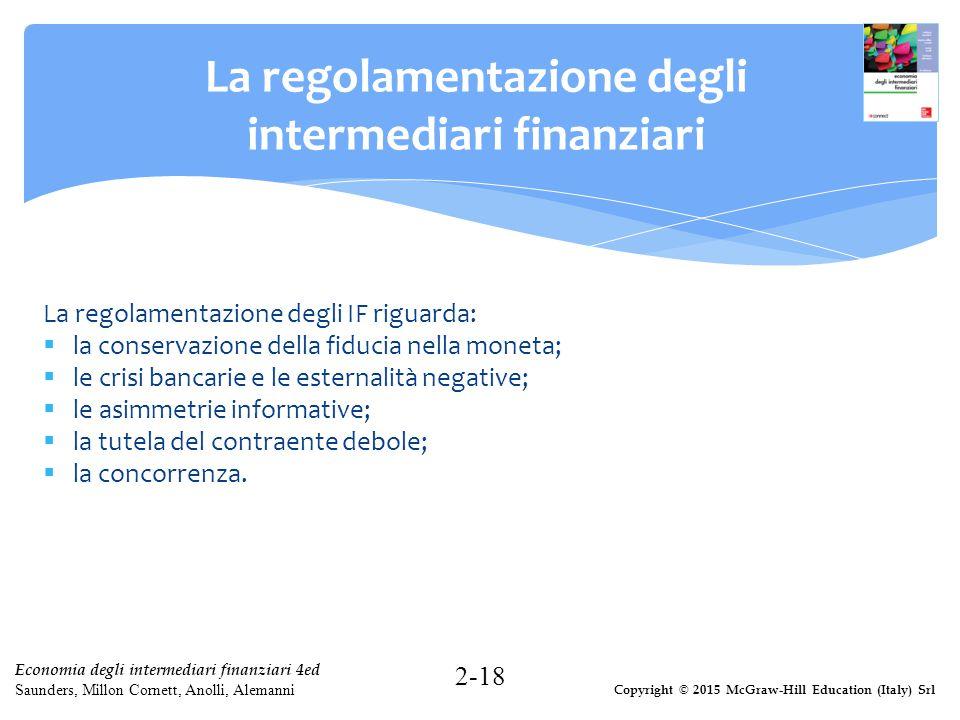 La regolamentazione degli intermediari finanziari