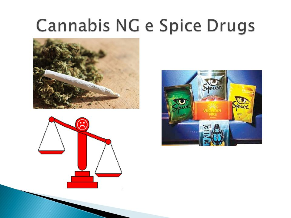 Cannabis NG e Spice Drugs
