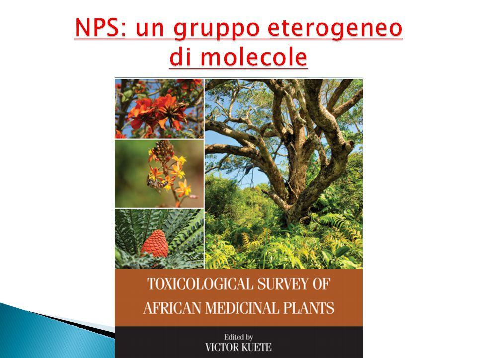NPS: un gruppo eterogeneo di molecole