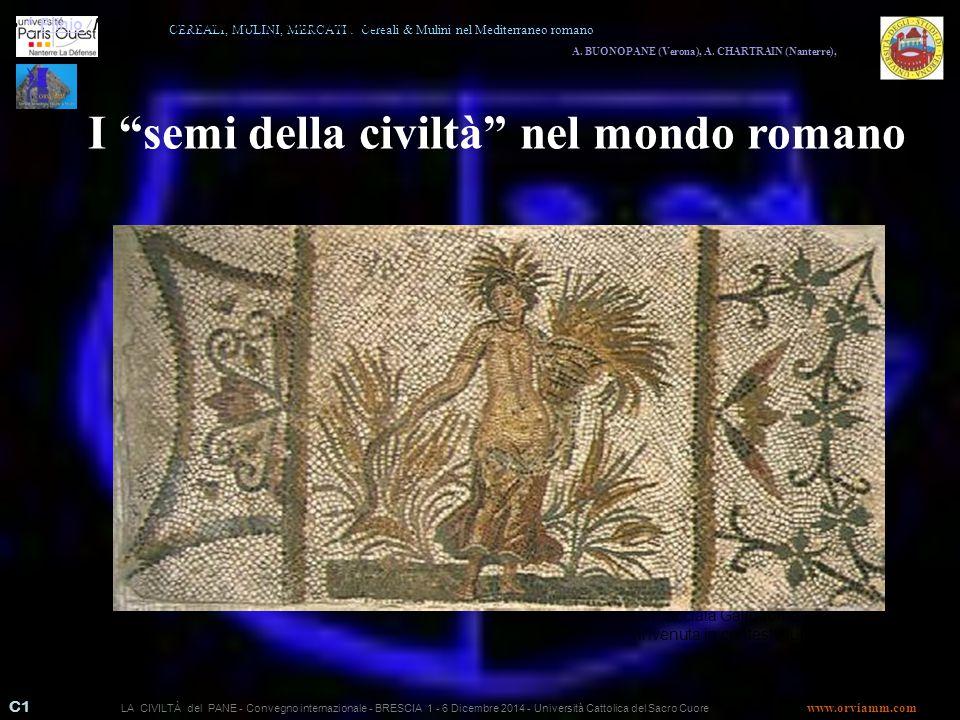 I semi della civiltà nel mondo romano