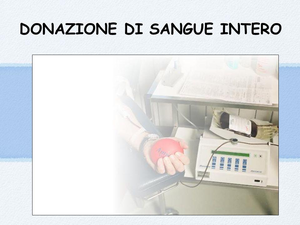 DONAZIONE DI SANGUE INTERO
