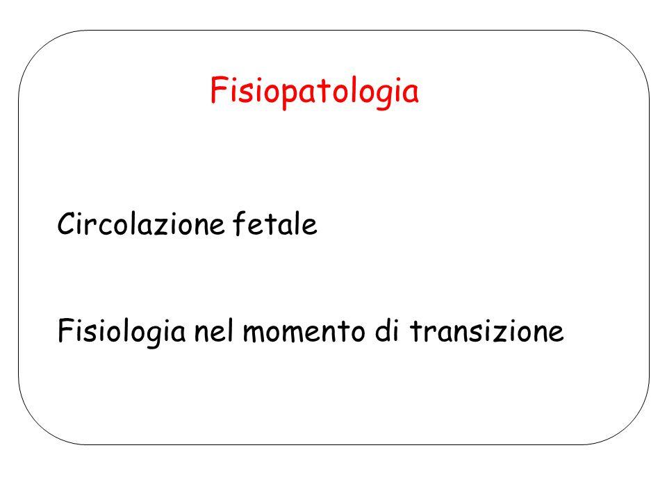 Fisiopatologia Circolazione fetale
