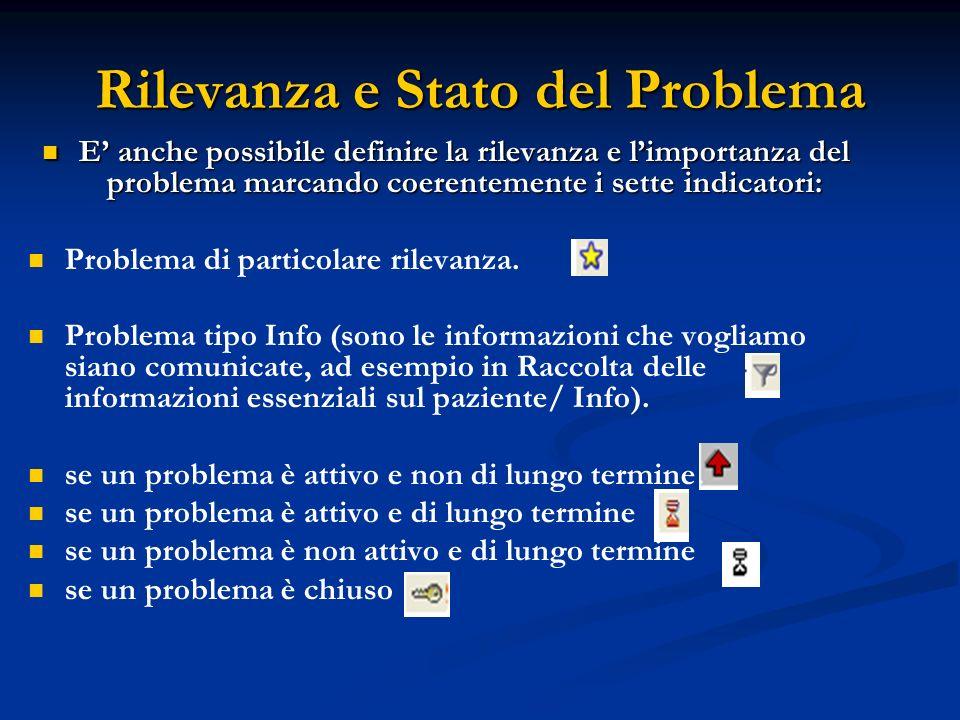 Rilevanza e Stato del Problema
