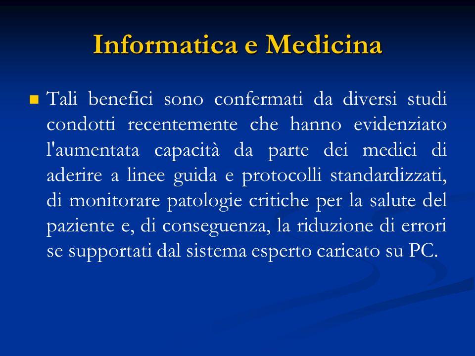 Informatica e Medicina
