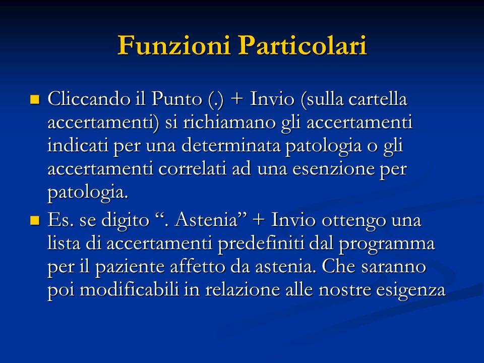 Funzioni Particolari