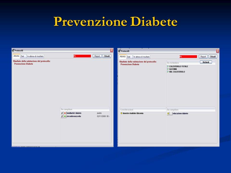 Prevenzione Diabete