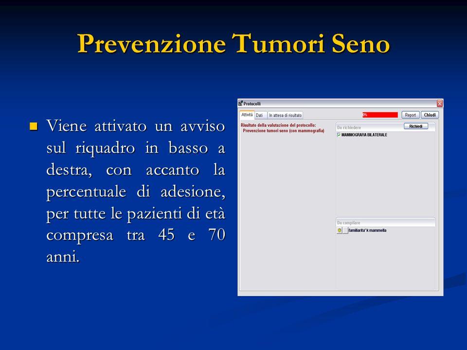 Prevenzione Tumori Seno