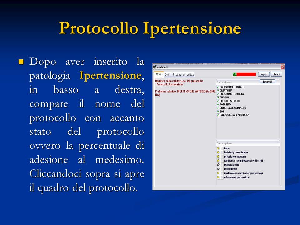 Protocollo Ipertensione