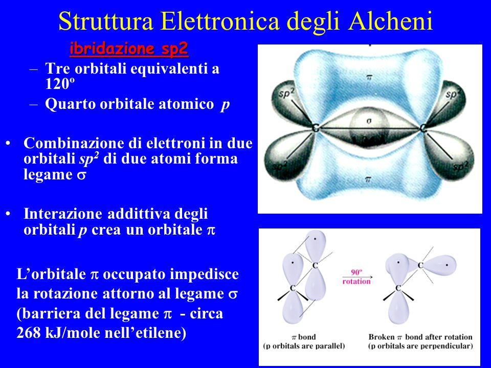 Struttura Elettronica degli Alcheni