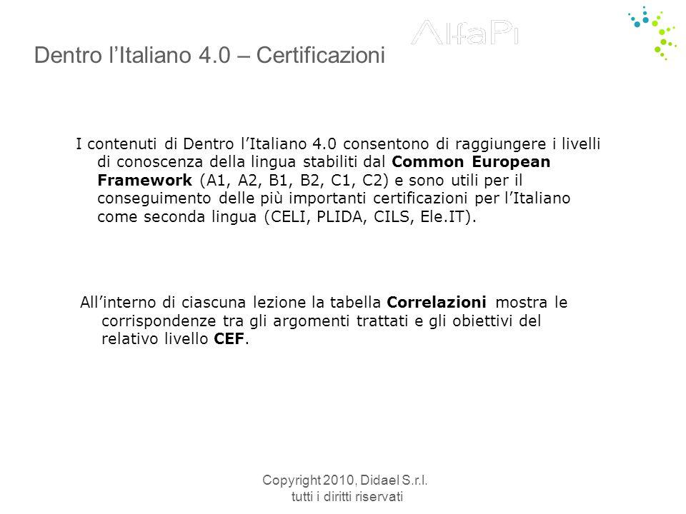 Dentro l'Italiano 4.0 – Certificazioni