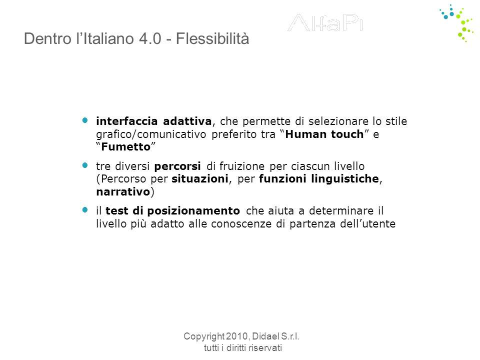 Dentro l'Italiano 4.0 - Flessibilità