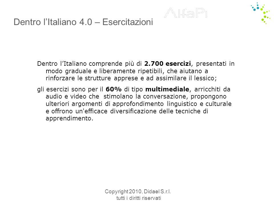 Dentro l'Italiano 4.0 – Esercitazioni