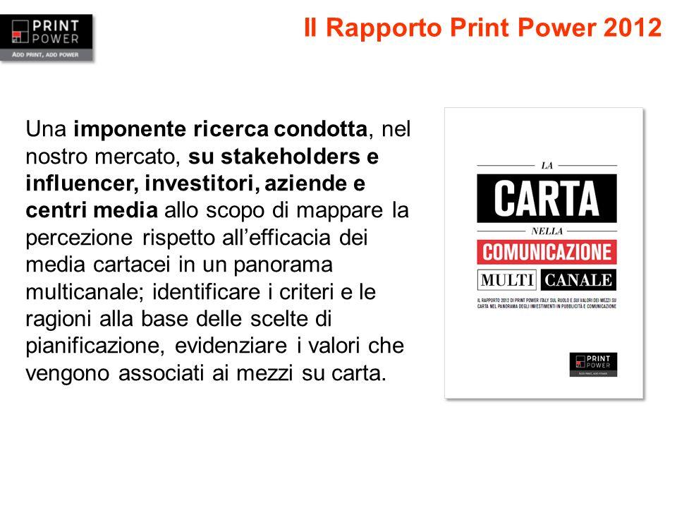 Il Rapporto Print Power 2012