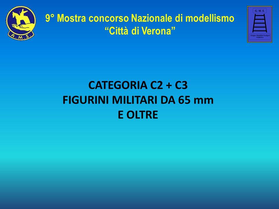 9° Mostra concorso Nazionale di modellismo FIGURINI MILITARI DA 65 mm