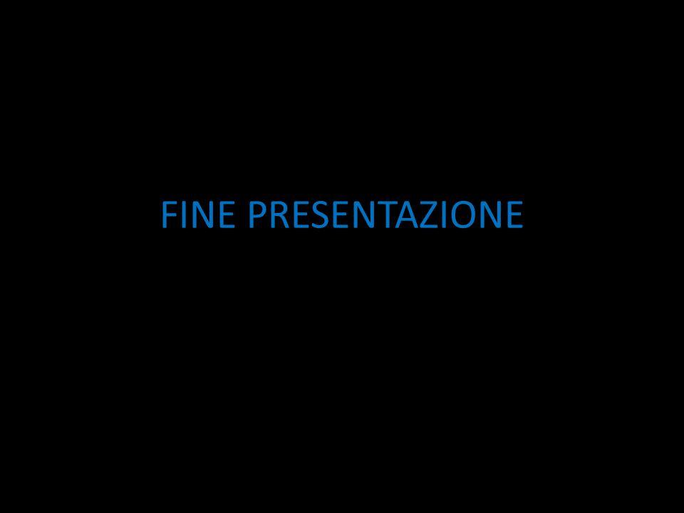 FINE PRESENTAZIONE