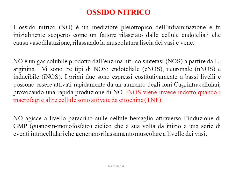 OSSIDO NITRICO
