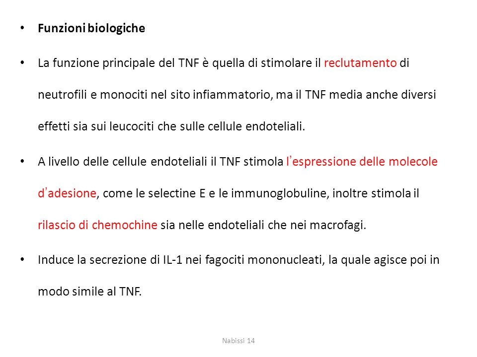 Funzioni biologiche