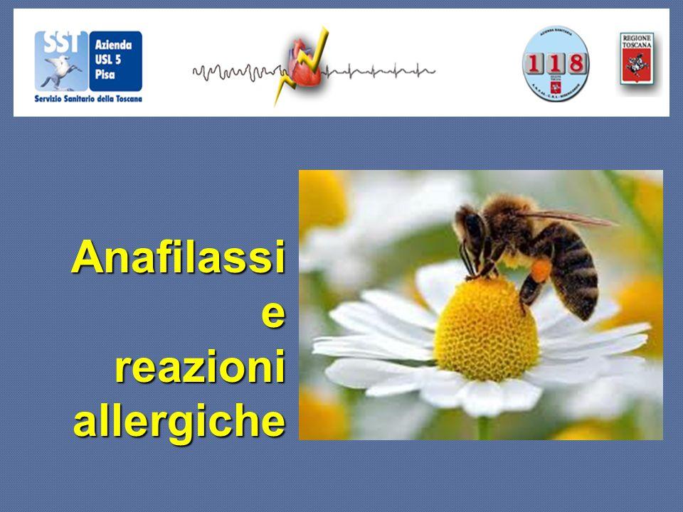Anafilassi e reazioni allergiche