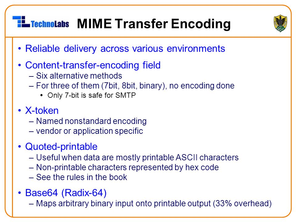 MIME Transfer Encoding