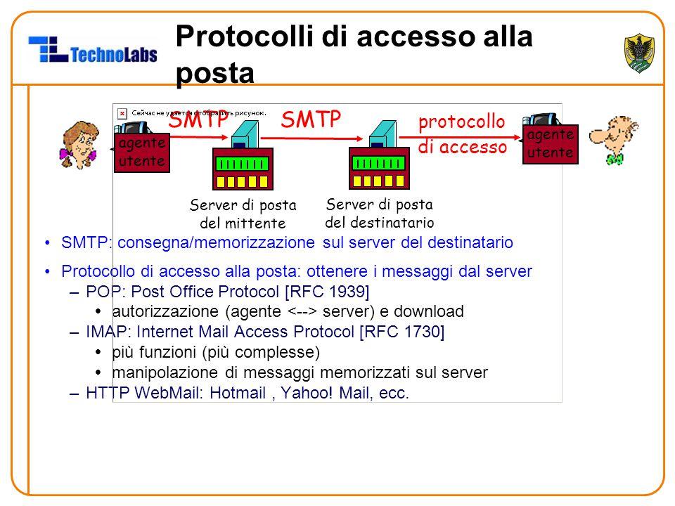 Protocolli di accesso alla posta