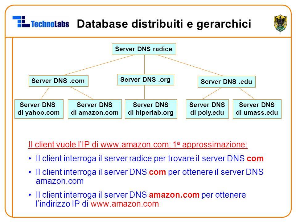 Database distribuiti e gerarchici