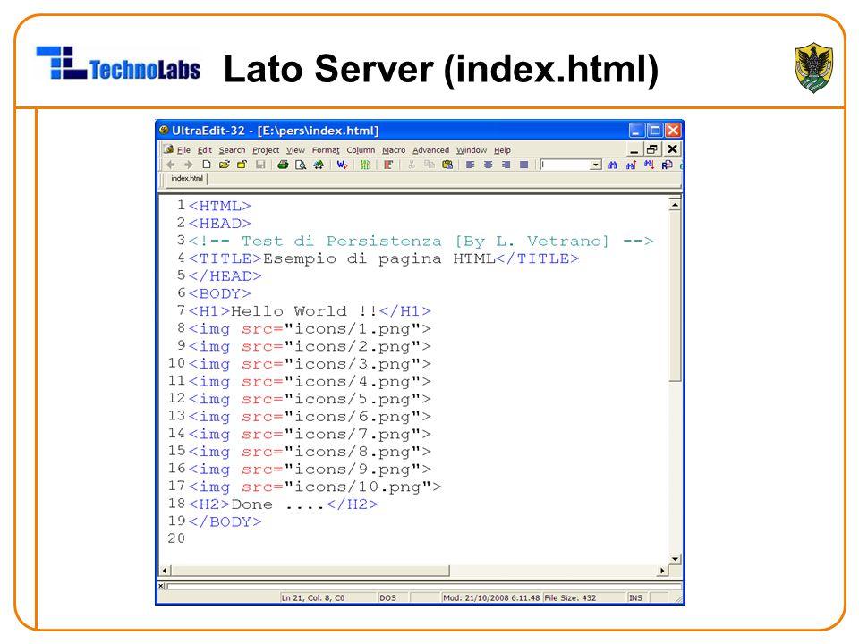 Lato Server (index.html)
