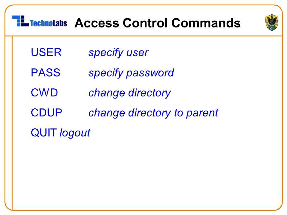 Access Control Commands