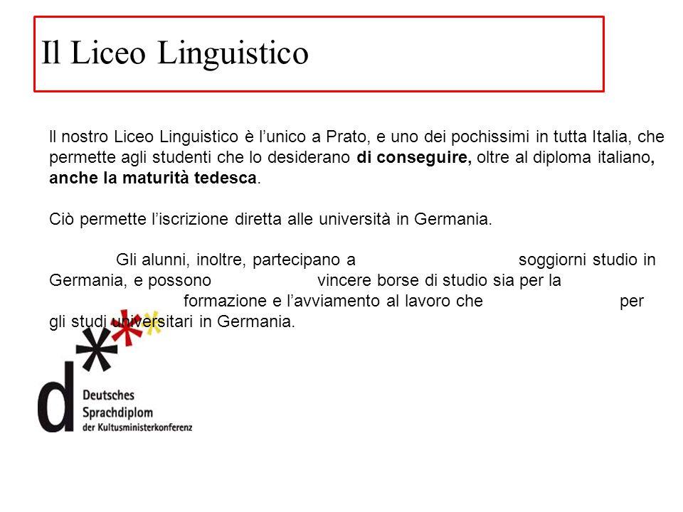 Il Liceo Linguistico