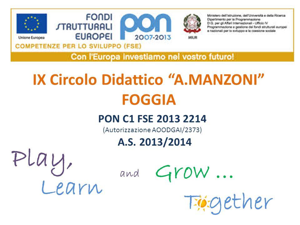 IX Circolo Didattico A.MANZONI