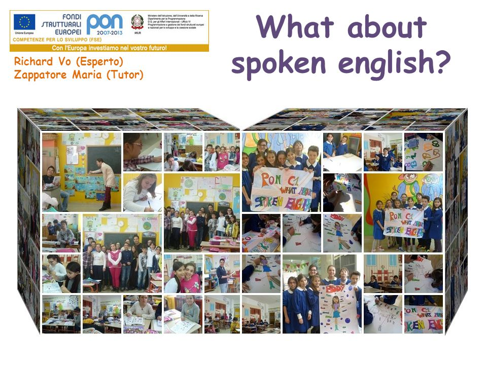What about spoken english