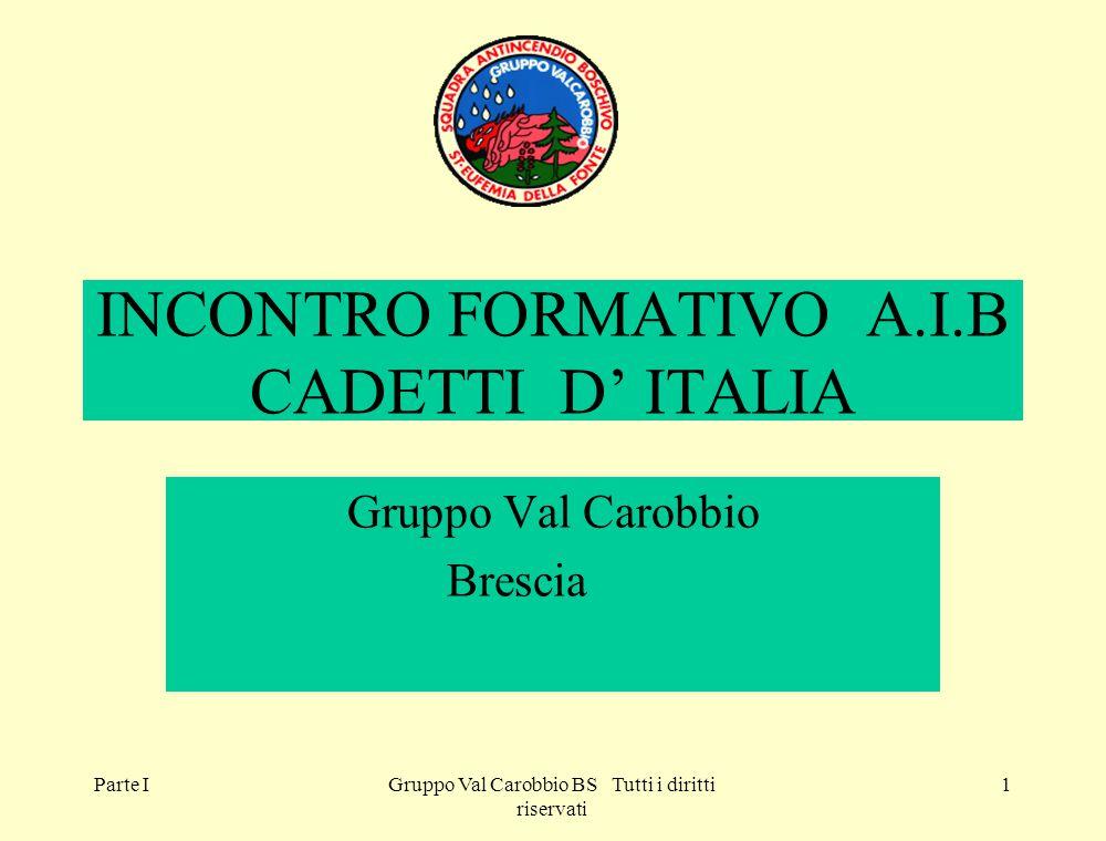 INCONTRO FORMATIVO A.I.B CADETTI D' ITALIA